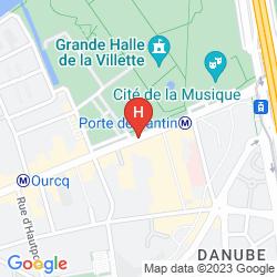 Map DE PARIS