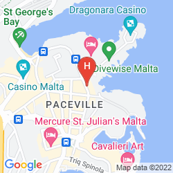 Map DRAGONARA APARTMENTS