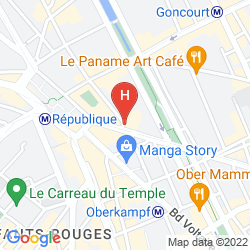 Map HIBISCUS REPUBLIQUE