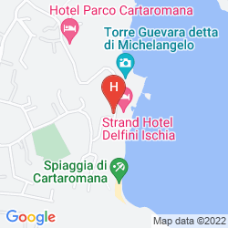 Map STRAND HOTEL DELFINI