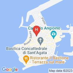 Map PALAZZO SENAPE DE PACE