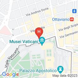 Map ALIMANDI VATICANO