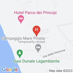 Map MINERVA RESORT