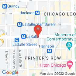 Map BLAKE HOTEL, AN ASCEND HOTEL COLLECTION MEMBER