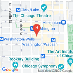 Map STAYPINEAPPLE CHICAGO, AN ICONIC HOTEL, THE LOOP