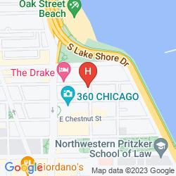 Map HILTON CHICAGO/MAGNIFICENT MILE SUITES