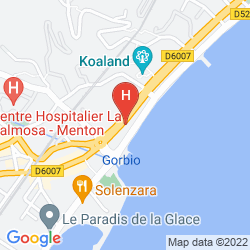 Map BEST WESTERN PRINCE DE GALLES