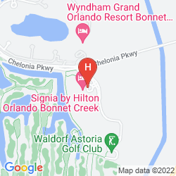 Map HILTON ORLANDO BONNET CREEK