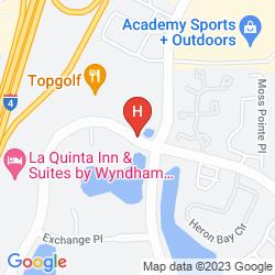 Map HOMESTEAD STUDIO SUITES ORLANDO LAKE MARY