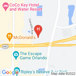 Map HAWTHORN SUITES BY WYNDHAM ORLANDO INTERNATIONAL DRIVE