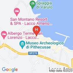 Map REGINA ISABELLA-RESORT SPA RESTAURANT