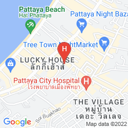 Map THE IMPERIAL PATTAYA