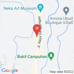 Map ANANDA COTTAGES