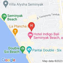 Map BALI AGUNG VILLAGE