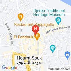 Map LES ALIZES
