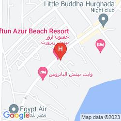 Map GIFTUN AZUR RESORT