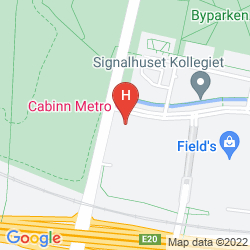 Map CABINN METRO