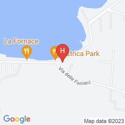 Map GRAND HOTEL MINARETO