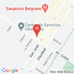Map NH GRAN HOTEL PROVINCIAL