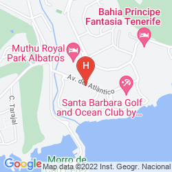 Map APARTAMENTOS GEMA AGUAMARINA GOLF