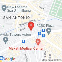 Map TIARA ORIENTAL