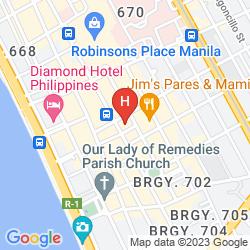 Map PEARL GARDEN