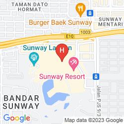 Map SUNWAY RESORT HOTEL & SPA