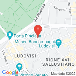 Map VILLA PINCIANA