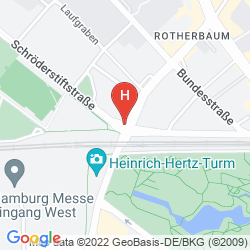 Map MERCURE HAMBURG MITTE