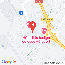 Map PULLMAN TOULOUSE AIRPORT