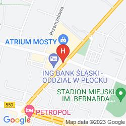 Map BEST WESTERN HOTEL PETROPOL