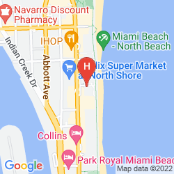 Map CARILLON MIAMI WELLNESS RESORT