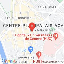 Map LA COUR DES AUGUSTINS - BOUTIQUE GALLERY DESIGN HOTEL