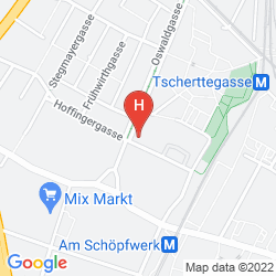 Map 7 DAYS PREMIUM HOTEL VIENNA