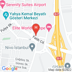 Map COURTYARD BY MARRIOTT ISTANBUL WEST