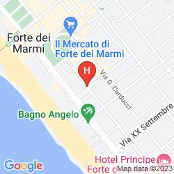 Map GRAND HOTEL FORTE DEI MARMI