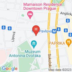 Map IBIS PRAHA WENCESLAS SQUARE