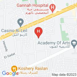 Map BARCELO CAIRO PYRAMIDS