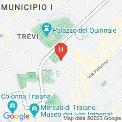 Map VILLA SPALLETTI TRIVELLI