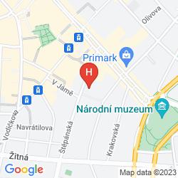 Map ALCRON HOTEL PRAGUE