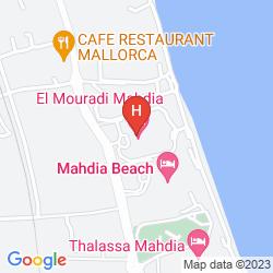Map EL MOURADI MAHDIA
