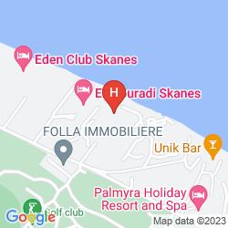 Map HOUDA GOLF AND BEACH CLUB