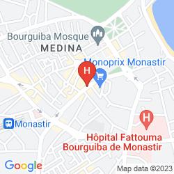 Map DELPHIN EL HABIB