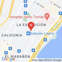 Map CENTROAMERICANO