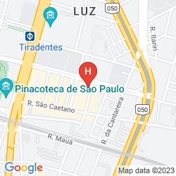 Map PESTANA SAO PAULO