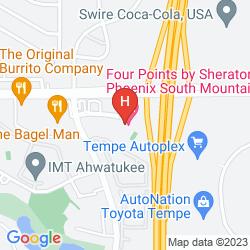 Map FOUR POINTS BY SHERATON PHOENIX SOUTH MOUNTAIN