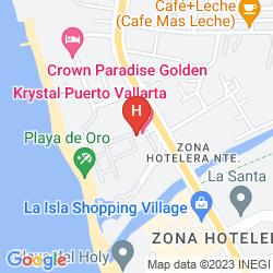 Map KRYSTAL PUERTO VALLARTA