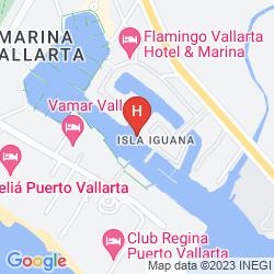 Map THE WESTIN RESORT & SPA, PUERTO VALLARTA