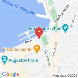 Map PARK PLAZA HISTRIA