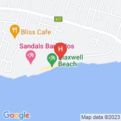 Map BOUGAINVILLEA BARBADOS